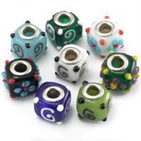 Highly customized Lampwork European Beads