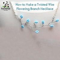 How to Make Twisted Wire Flowering Branch Necklace