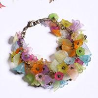Do it yourself crafts- Field of flowers in Spring Bracelet