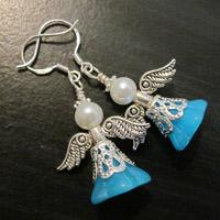 Easy to Make Jewelry- DIY Your Guardian Angel Earrings