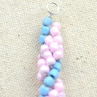 How to make spiral chain