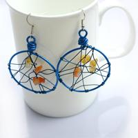 Unique Handmade Jewelry-DIY Dreamcatcher Earrings in 3 Simple Steps
