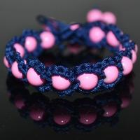 How to Weave Shamballa Friendship Bracelet with Beads