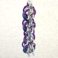 Full Persian chain maille- excellent decoration for bracelet making