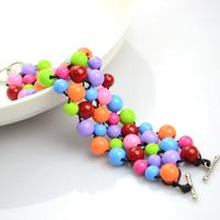 Handmade beaded bracelets out of affordable jewelry making materials
