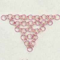 Japanese 3-in-1 chain maille