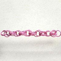 Double Spiral 4 in 1 Wire Chain Technique-A Spiral Chain