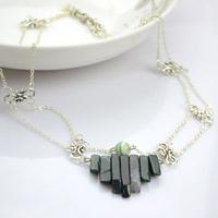 Easy Home Made Jewelry- How to Make a Necklace with Natural Stone Beads