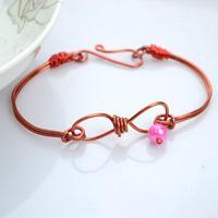 Handmade Jewelry Unique Design-Infinity Wire Bracelet Making Instructions