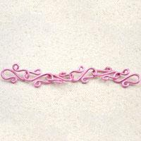 Make an S hook chain- great jewelry linker