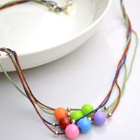 Diy Necklace Ideas- How to Make a String Bead Necklace