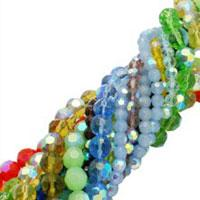 Bling-Bling Electroplated Glass Beads