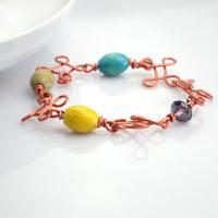 Wire Bracelets to Make at Home - Personalized Charm Jewelry Project