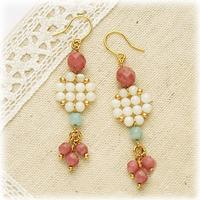 Jewellery Design-Dainty Earrings to Make with Gemstone Beads