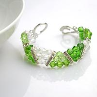 Basic Beaded Bracelet Designs - Handmade Crystal Bracelets Made within 10minutes