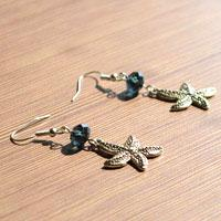Easy Craft Project About DIY Starfish Earrings