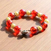 Simple Beaded Bracelet - Learn to Make Jewelry at Home in 3 Quick Steps