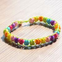 DIY Iridescent Bracelet Tutorial - Make Iridescent Bracelet out of Beads and String