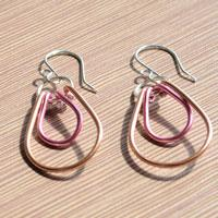 Easy Tutorial on Making Wire Wrap Earrings