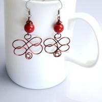 Wire Butterfly Earrings Tutorial - Make Your Personal Jewelry