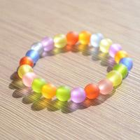 Easy Tutorial about Making DIY Candy-Colored Bracelet