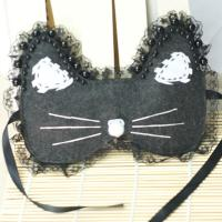 How to Make a Cute Black Cat Eye Mask for Halloween