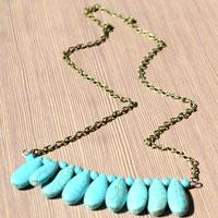 Easy Tutorials on Making Turquoise Beaded Necklace