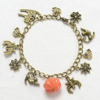DIY Charms Bracelet - How to Make Pendant Bracelet