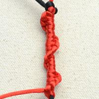 Tying a Half Hitch - Popular Decorative Knot for Micro-Macramé Jewelry