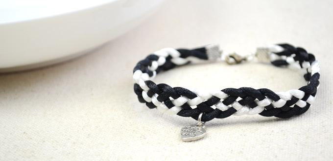 How to Make a Friendship Bracelet - Braid Friendship Bracelet with 5 Cords