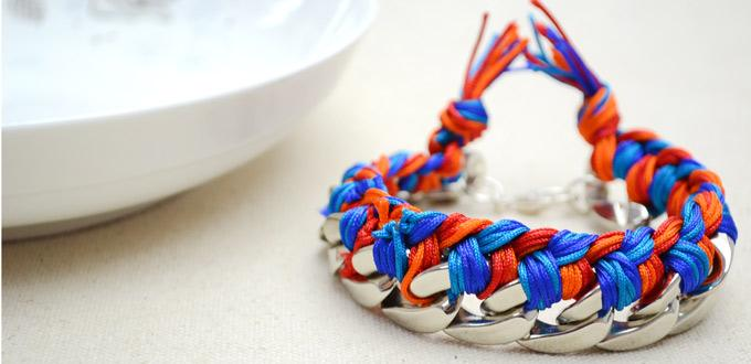 How to Make Braided Chain Bracelets - DIY Braided Bracelets with Multi-Colored Threads