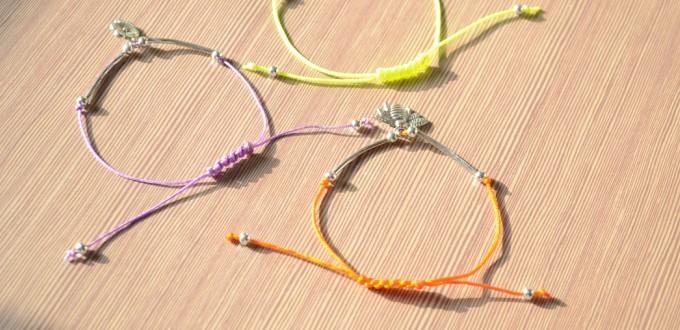 Jewelry Making Instructions - Easy Ways to make String Bracelet