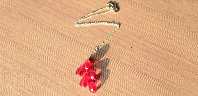 Easy Tutorial on Making Glass Pendant Necklace