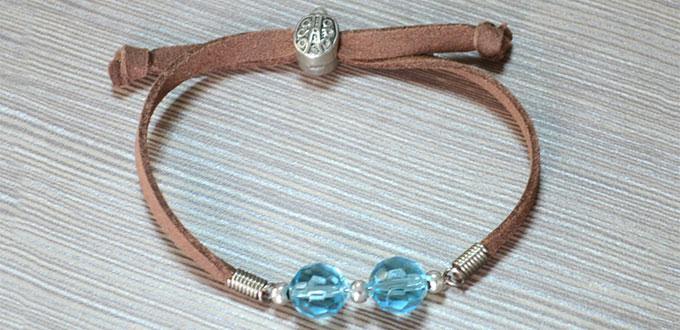 Easy Steps to Make Sliding Knot Bracelet