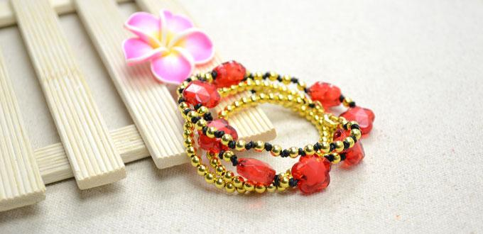 How to Make a Long Beaded Leather Wrap Bracelet within 30 Minutes