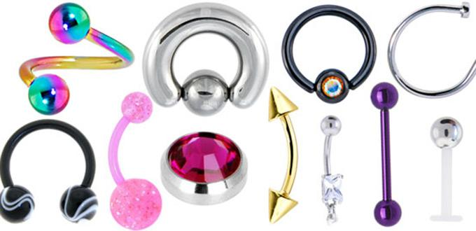 Four Best Ways Of Cleaning Body Jewelry At Home
