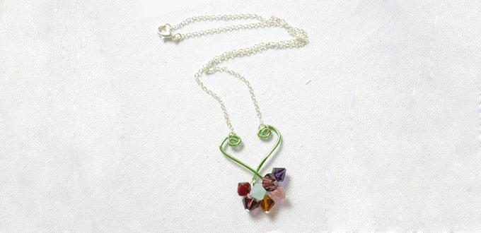 How to Make Charm Pendant Necklace Step by Step