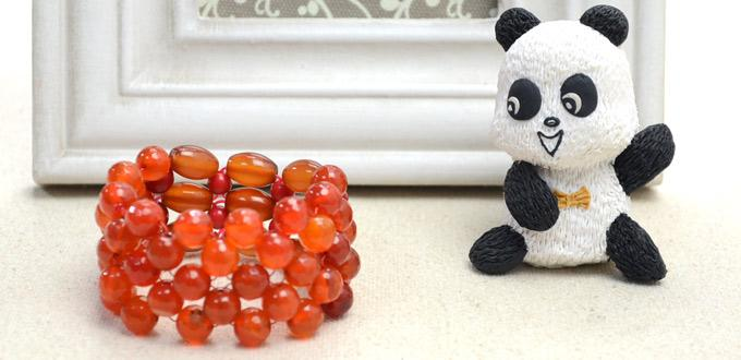 Instructions for a Right Angle Weave Bead Bracelet Pattern