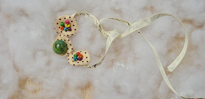 Green Stone Bracelet Designs for Making a Flower Bracelet with Ribbon