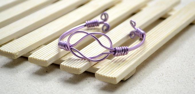Step-by-step Instructions on Making a Sailor Knot Bracelet with 2mm Wire