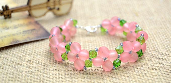 Learn to Make a Basic Right Angle Weave Bracelet for Valentine's Day