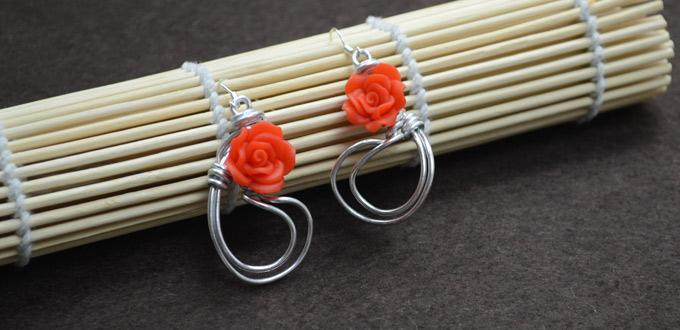 how to make wire roses