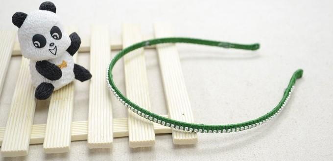 Handmade Jewelry Design - How to Make Cute Wrapped Headbands with Rhinestones