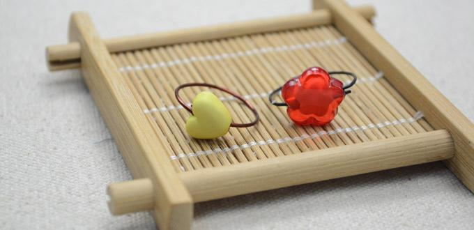 How to Make Chic Wire Rings with Multi-Shaped Beads