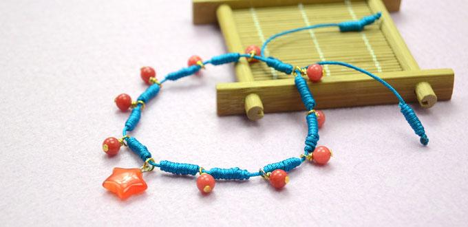 Step-by-step Tutorial on Making a Personalized Sliding Knot Friendship Bracelet