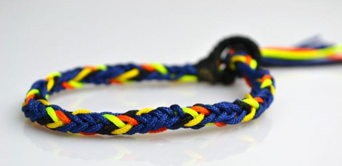 Cool Jewelry For Guys How To Weave Men S Friendship Bracelets Out Of 10 Strings