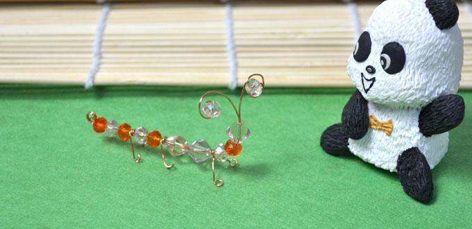 Homemade Craft Ideas for Kids-How to Make an Easy Ant Craft with Beads