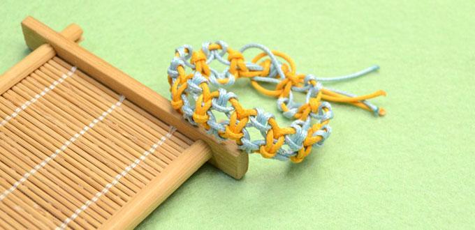 How to Knit a Friendship Bracelet with Lark's Head Knots