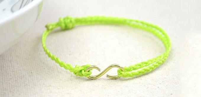 DIY Summer Bracelet – How to Make an Easy Braided Friendship Bracelet