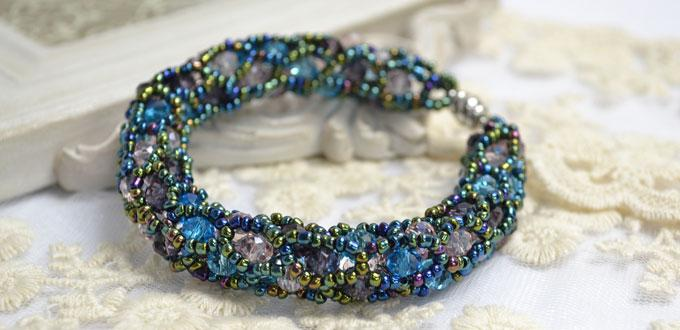 Video Tutorial on How to do a Tubular Netting Stitch Bead Bracelet